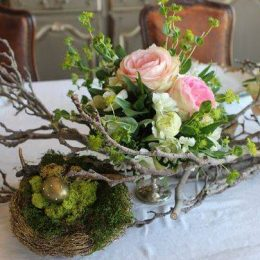 Easter Table Arrangement
